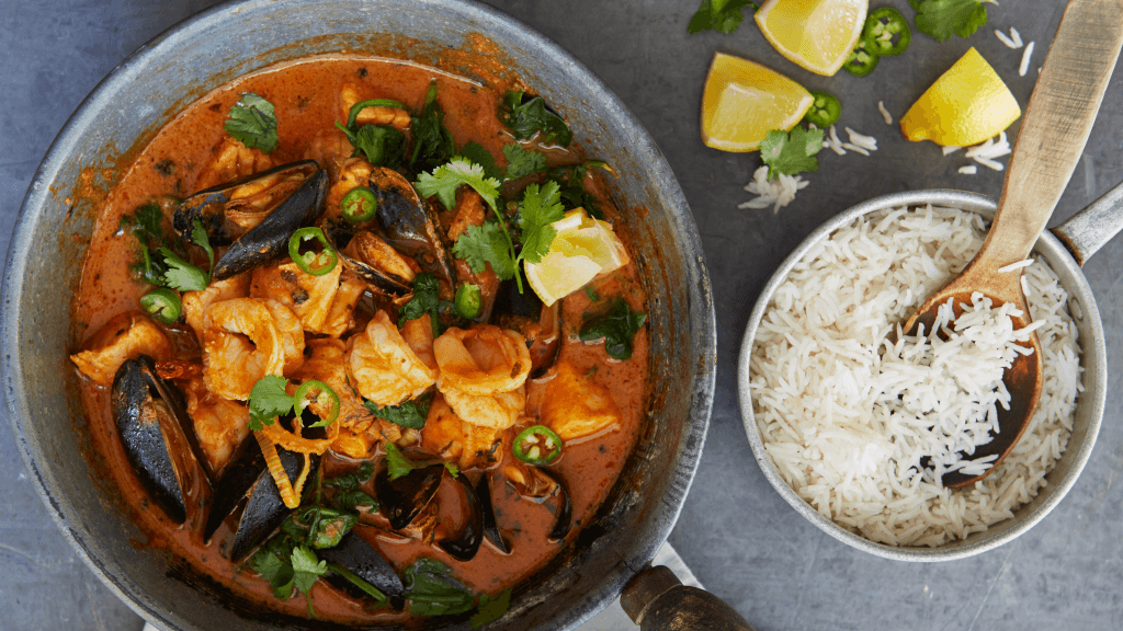 Mixed Seafood Classic Butter Curry