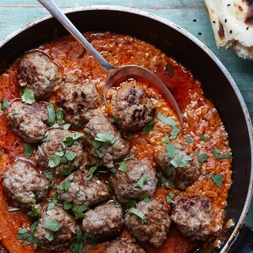 Lamb Meatball Curry