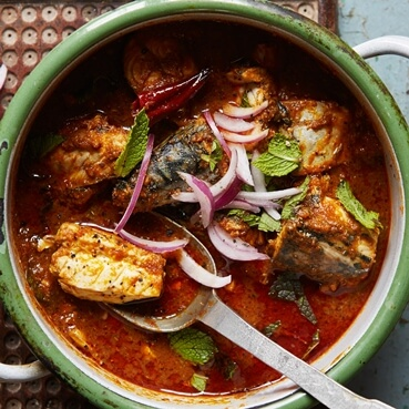 Spicy Goan Mackerel Curry